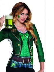 Camiseta irlandesa mujer