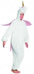 Disfraz de unicornio peluche adolescente