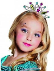 Diadema princesa multicolor niña
