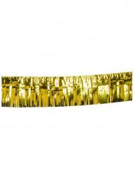 Guirnalda dorada con flecos 6 m
