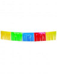 Guirnalda multicolor con flecos 10 m