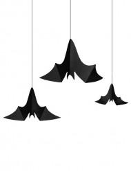 3 Decoraciones colgantes murciélagos