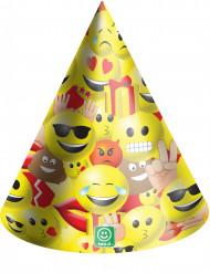 6 gorros de fiesta de cartón Imoji™