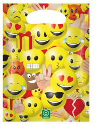 6 bolsas de regalo de plástico 17x23 Imoji™