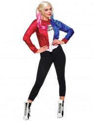 Disfraz chaqueta y camiseta adulto Harley Quinn - Escuadrón Suicida™