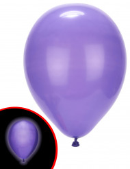 5 Globos LED violetas Illooms®