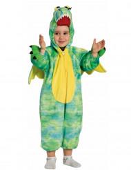Disfraz de dragón verde niño