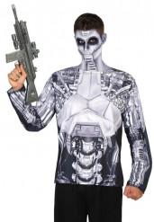 Camiseta robot hombre
