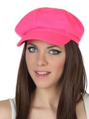 Gorra rosa fluo adulto