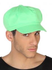 Gorra verde fluo adulto