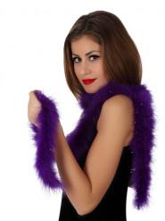 Marabú violeta 185 cm