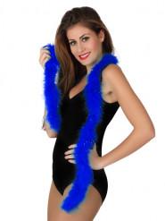 Marabú azul oscuro 185 cm