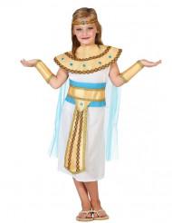 Disfraz de egipcia del Nilo niña