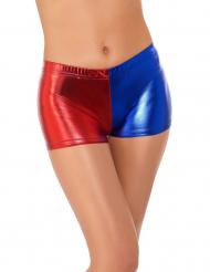 Pantalón corto arlequín mujer
