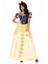 Disfraz de princesa de cuento deluxe mujer