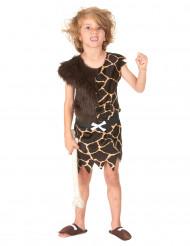 Disfraz de niño de las cavernas mixto