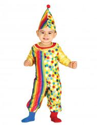 Disfraz de payaso bebé
