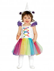 Disfraz de unicornio bebé