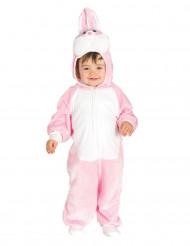 Disfraz de conejo rosa bebé