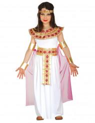 Disfraz egipcia rosa y dorado niña