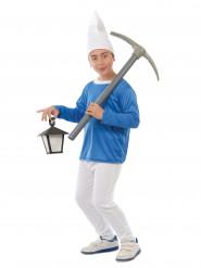 Disfraz enano azul niño