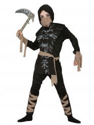 Disfraz ninja fantasma niño