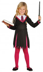 Disfraz de alumna de magia niña
