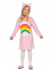 Disfraz arcoíris niña