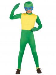 Disfraz de tortuga enmascarada niño