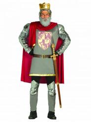 Disfraz rey de los caballeros hombre