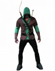 Disfraz de arquero enmascarado hombre