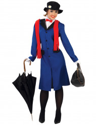 Disfraz de niñera inglesa mujer