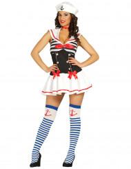 Disfraz de marinera sexy mujer
