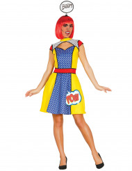 Disfraz de chica pop mujer