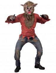 Disfraz de lobo malvado adulto