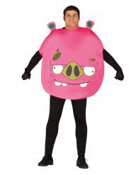Disfraz de cerdo jugador adulto