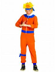 Disfraz de maestro ninja naranja adulto