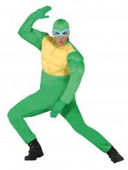 Disfraz de tortuga enmascarada