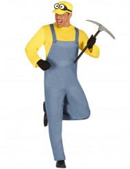 Disfraz criatura amarilla adulto
