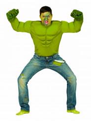 Disfraz de superhéroe verde