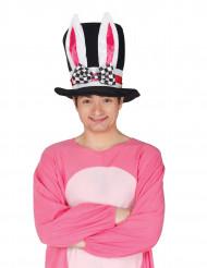 Sombrero de copa orejas de conejo adulto