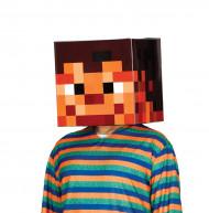 Máscara de cartón con píxel 30x30 adulto