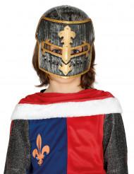 Casco caballero medieval niño