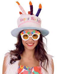 Gafas Happy Birthday adulto