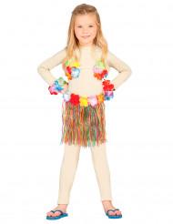 Kit hawaiana multicolor niño