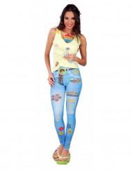 Legging vaquero hippie mujer