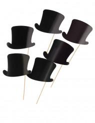 6 Sombreros de copa Photocall 12 31808b932db