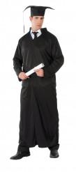 Disfraz túnica negra 3 en 1 adulto