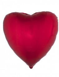 Globo aluminio corazón rojo 45 cm