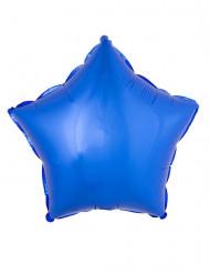 Globo aluminio estrella azul 45 cm